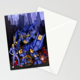 12th Doctor with Samurai Stationery Cards