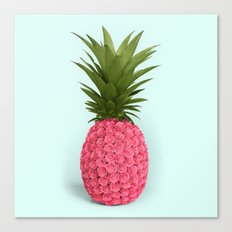 PINEAPPLE ROSES Canvas Print