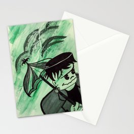 Frankie in The Storm Stationery Cards
