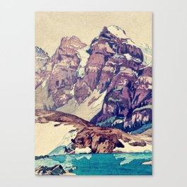 The Dimyian Breathing Canvas Print