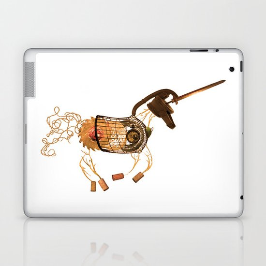 Steampunk Unicorn Laptop & iPad Skin