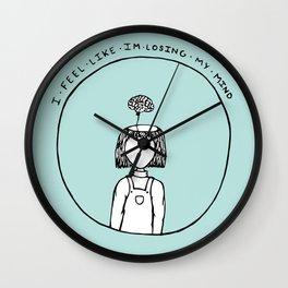 Balloon Brain Wall Clock
