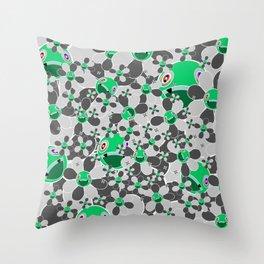 HW Flower inverse  Throw Pillow