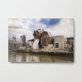 Guggenheim Museum Metal Print