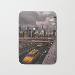 View of NYC Bath Mat