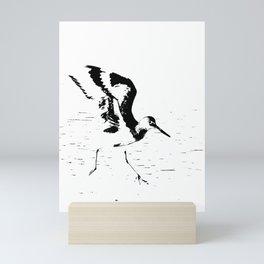 Little Dancer-b&w Mini Art Print