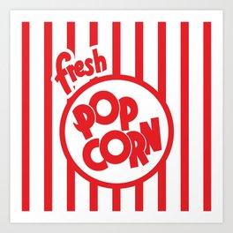 Fresh Popcorn Art Print
