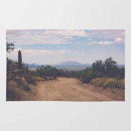Down Desert Roads Rug