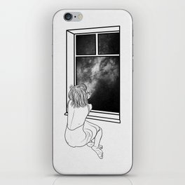 Sometimes, it's better to be alone. iPhone Skin