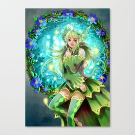 Forest Fea Canvas Print