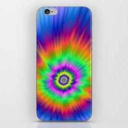 Tie Dye Fireball iPhone Skin
