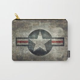 Air force Roundel v2 Carry-All Pouch