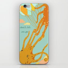Don't Let Me Go iPhone Skin