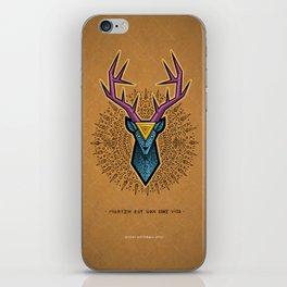 Materialization Deer iPhone Skin