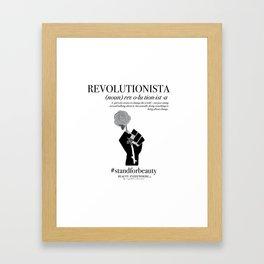 REVOLUTIONISTA Framed Art Print
