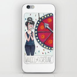 The Solipsist Tarot | X - The Wheel of Fortune iPhone Skin