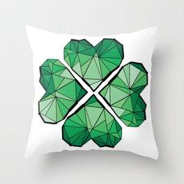 Geometrick lucky charm Throw Pillow