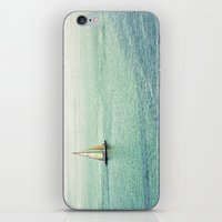 sailing iPhone & iPod Skins featuring Sailing by Lawson Images