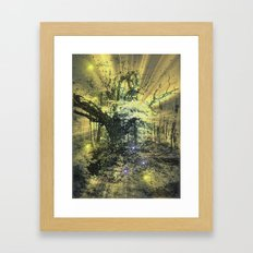 Snow Tree. Framed Art Print