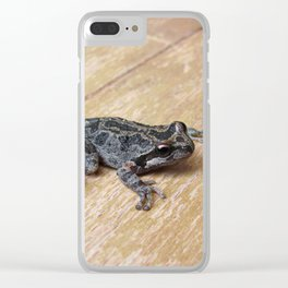 Tiny Toad 0833 Clear iPhone Case