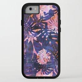 Motuu Tropical Pink & Purple iPhone Case
