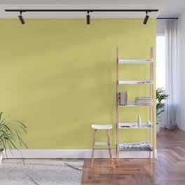Limelight | Pantone Fashion Color | Fall : Winter 2018 | Solid Color | Wall Mural