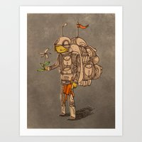 soldier Art Prints featuring Soldier by Pedro Hamdan