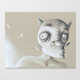 Devil Elf Canvas Print