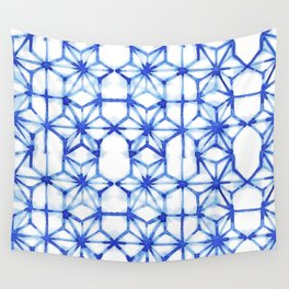 Abstract geometric star Wall Tapestry