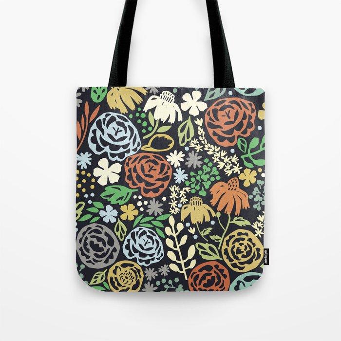 Dark Garden Tote Bag