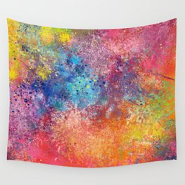Galaxy Rainbow Wall Tapestry
