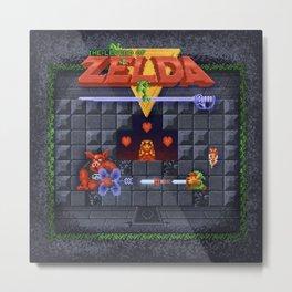The Zelda of Legend Metal Print