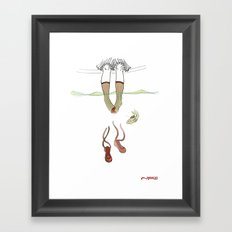 Socks Framed Art Print