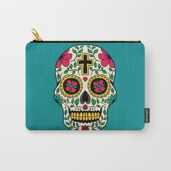 Skull Tattoo Carry-All Pouch