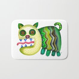 Screaming Kitty Bath Mat
