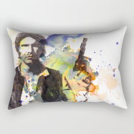 Han Solo From Star Wars  Rectangular Pillow