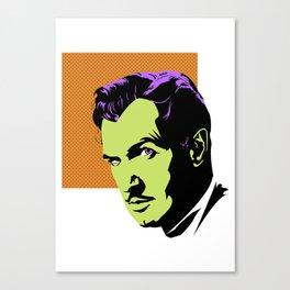 Vincent Price (Colour) Canvas Print