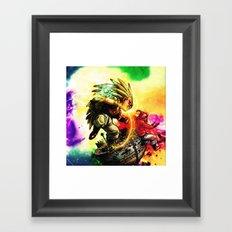 Against the buu Framed Art Print
