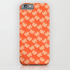 Butterflies orange Slim Case iPhone 6s