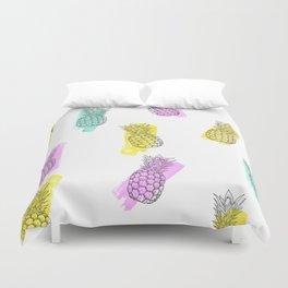 Funky ananas Duvet Cover