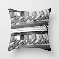 Harlem Throw Pillow