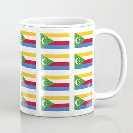 flag of comoros -comores,comorian,comorien,moroni,iles éparses,scattered island,indian ocean Coffee Mug