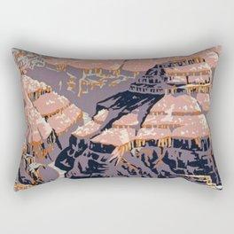 Grand Canyon Vintage Rectangular Pillow