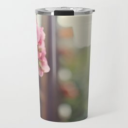 Blossoms in in autumn time Travel Mug