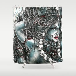 Goddess Kali 1 Shower Curtain