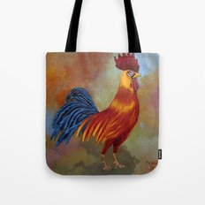 Rooster-3 Tote Bag