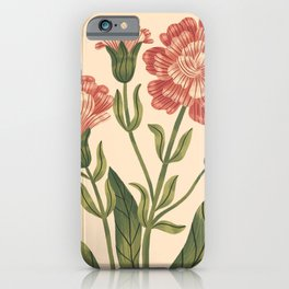 Wild Flowers ~ vol3. ~ light iPhone Case