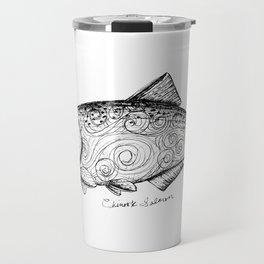 Chinook Salmon Travel Mug