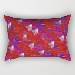 digital abstraction Rectangular Pillow