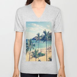Hanauma Bay Unisex V-Neck